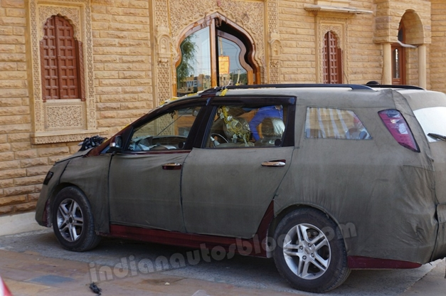 Chery Easter Cross (Spied) - SideView