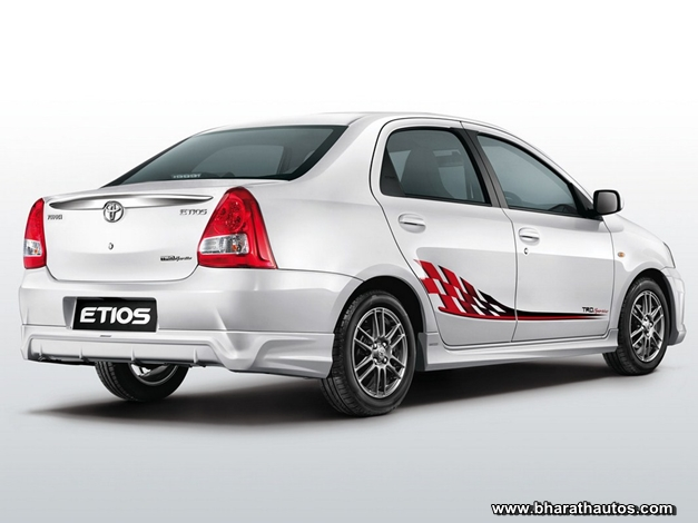 Toyota Etios Sedan Trd Sportivo Limited Edition Launched
