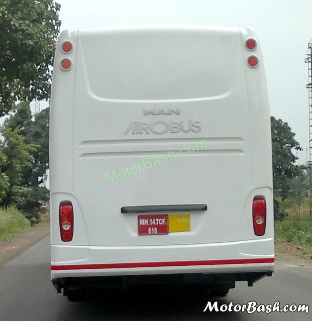 MAN Airobus - RearView