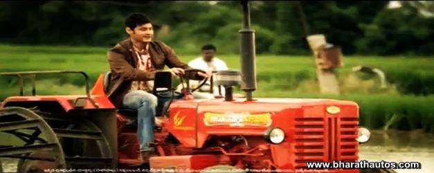 Mahesh Babu Telugu superstar is new brand ambassador of Mahindra Tractors