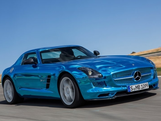 Mercedes-Benz SLS AMG Coupe Electric Drive - FrontView