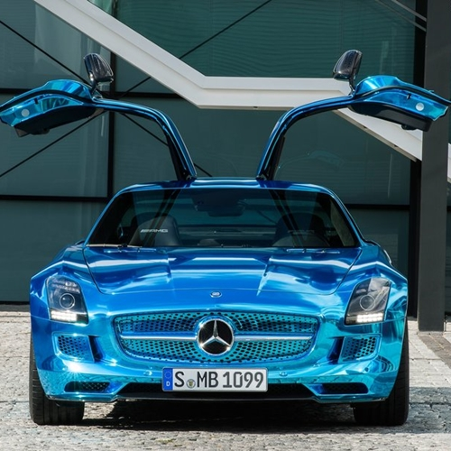 Mercedes-Benz SLS AMG Coupe Electric Drive Concept