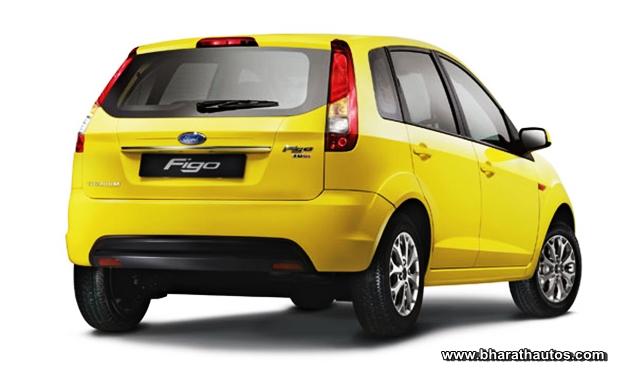 New Ford Figo - RearView