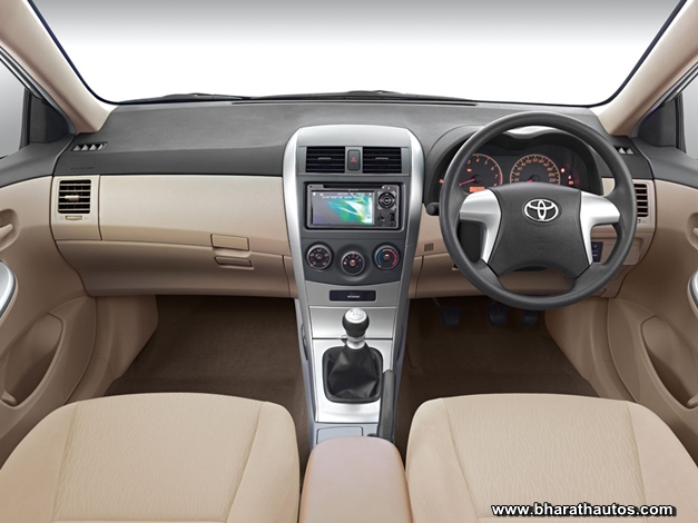 Toyota Corolla Altis Limited Edition - InteriorView
