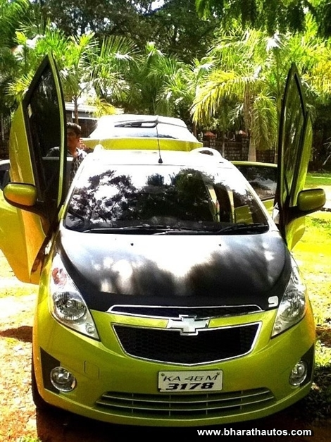 Chevrolet Beat with Lambo doors - 001