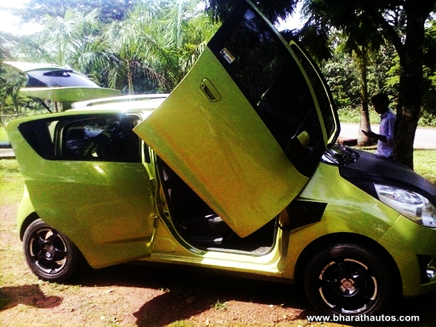 Chevrolet Beat with Lambo doors - 002