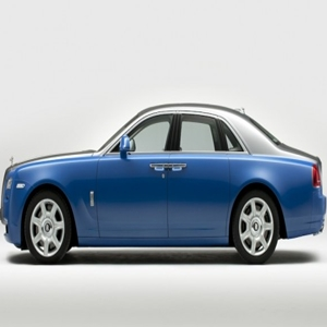 Rolls-Royce Ghost Art Deco inspired cars