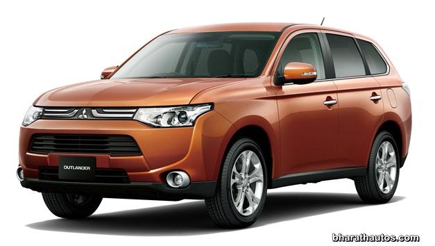 2013 Mitsubishi Outlander - ExteriorView