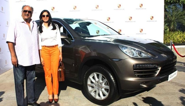 Sridevi gifted a Porsche Cayenne to her husband