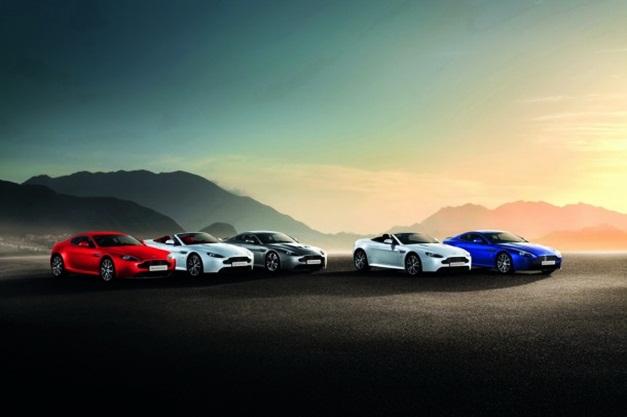 2012 Aston Martin Vantage-V8 (line-up)