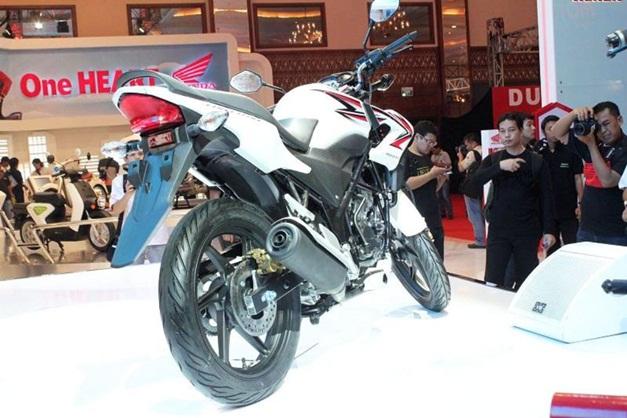 2013 Honda CB150R Streetfire - RearView