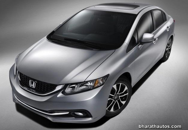 2013 Honda Civic sedan - FrontView