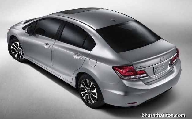 2013 Honda Civic sedan - RearView