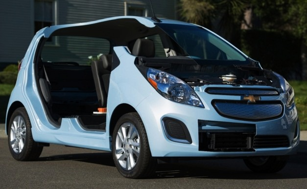 2014 Chevrolet Spark EV Unveiled, Accelerates 0 100 Kmph In Under 8 Seconds