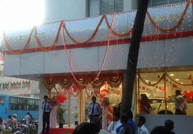 HM launches Mitsubishi dealership in Bangalore