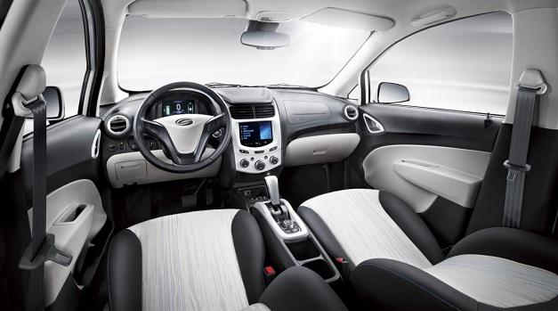 Shanghai-GM Sail Springo EV - InteriorView