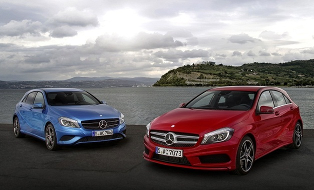 Mercedes A- and B-class