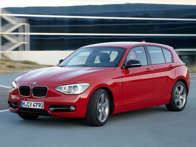 2013 BMW 1-Series - FrontView