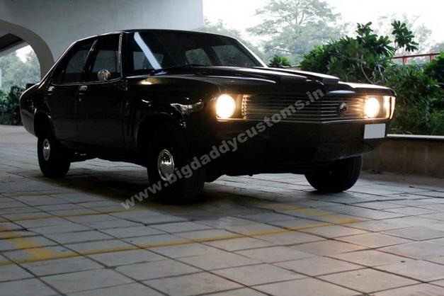 HM Contessa Converted Into Chevrolet Camaro