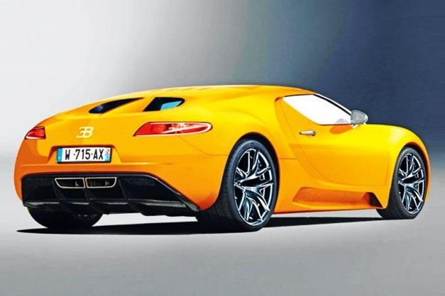2014 Bugatti Veyron - RearView