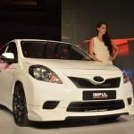 Nissan Sunny sedan with Impul body kit - 005