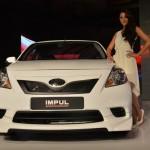 Nissan Sunny sedan with Impul body kit - 006