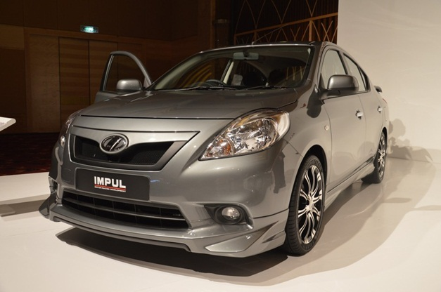 Nissan Sunny Sedan Launched In Malaysia With Impul Body Kit