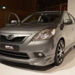 Nissan Sunny sedan with Impul body kit - 001