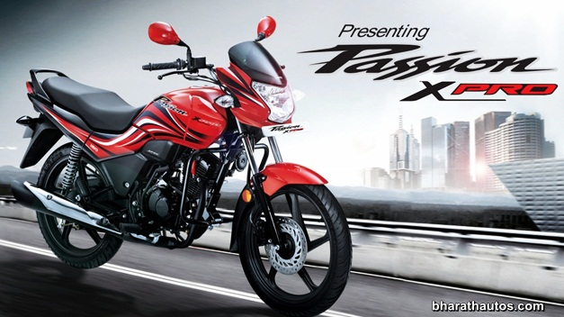 Hero Motocorp Updates Website With Passion X Pro Details Brochure