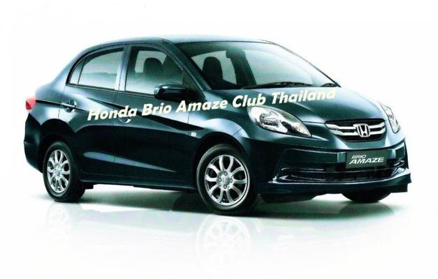 Honda Brio Amaze - FrontView