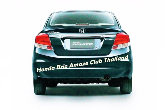 Honda Brio Amaze - RearView
