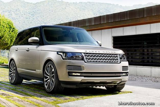 2013 Land Rover Range Rover SUV - FrontView