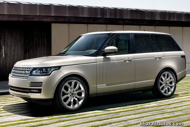 2013 Land Rover Range Rover SUV - SideView