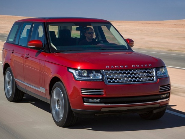 2013 Range Rover SUV - FrontView