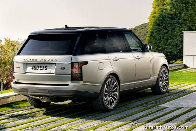 2013 Land Rover Range Rover SUV - RearView