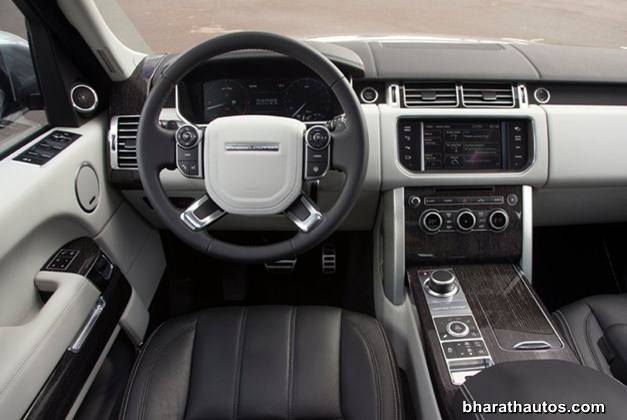 2013 Land Rover Range Rover SUV - DashView