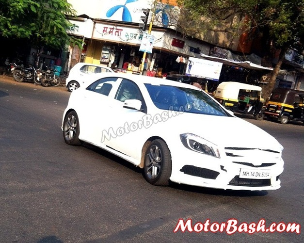 Mercedes A-Class spy pictures