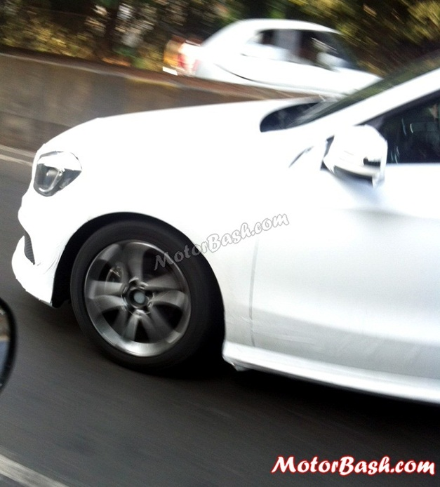 Mercedes A-Class spy pictures - 004