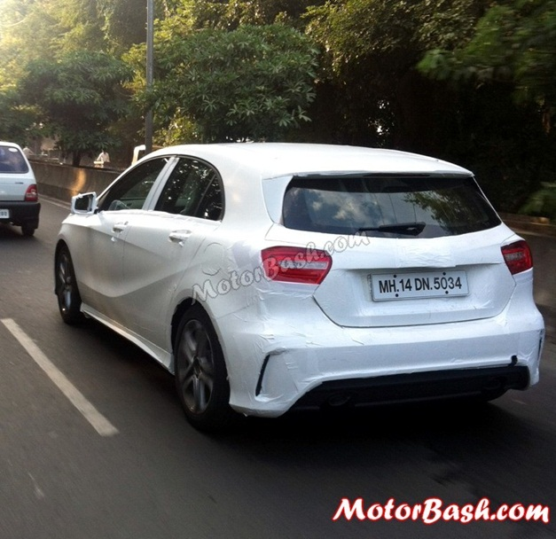 Mercedes A-Class spy pictures - 002
