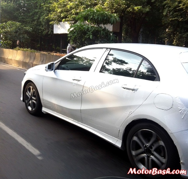 Mercedes A-Class spy pictures - 001