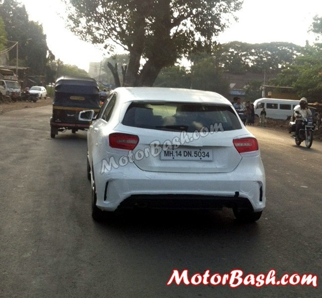 Mercedes A-Class spy pictures - 003