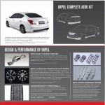Nissan Sunny sedan with Impul body kit - 008