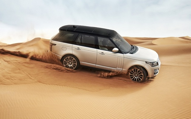 2013 Range Rover SUV - SideView