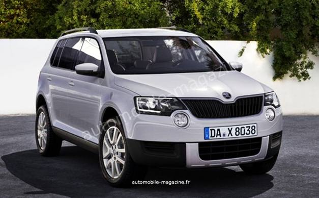 skoda to launch two new models by 2015. Black Bedroom Furniture Sets. Home Design Ideas