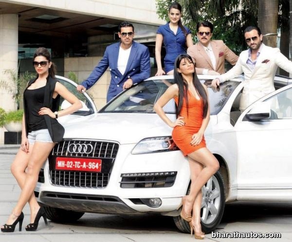 Audi India's new campaign 'Act in Race 2' Race 2
