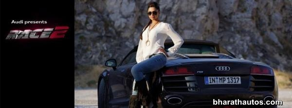 Audi cars in movie Race 2