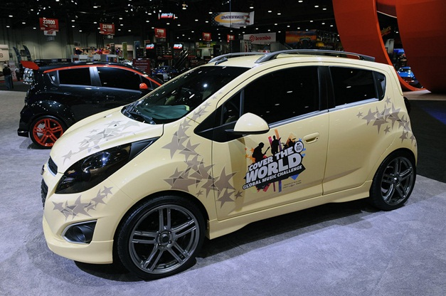 Chevrolet Beat showcased in five different avatars at the ...