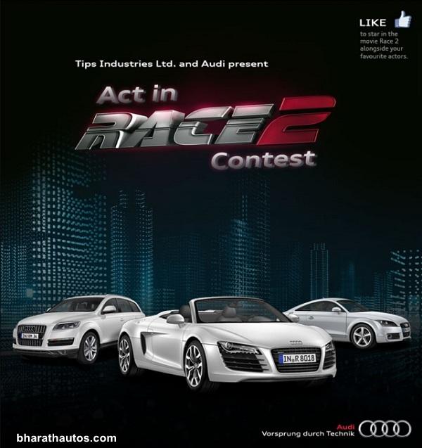 Audi cars in movie Race 2 - 001