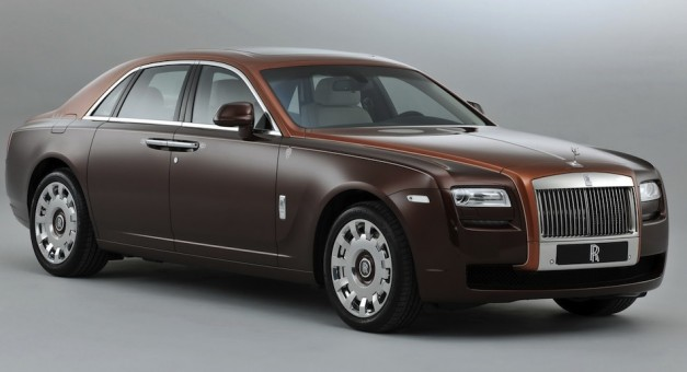 Rolls Royce Ghost One Thousand and One Nights Edition - FrontView
