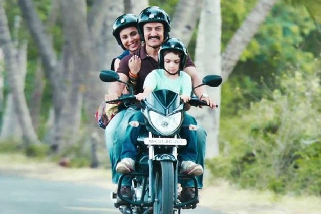 Amir Khan rides in Mahindra Panthero 110